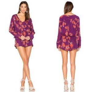 Free People | Foley, floral top.